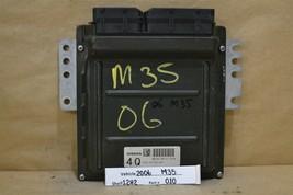 2006 Infiniti M35 Engine Control Unit ECU MEC35890C1 Module 10 12H2 - $52.46