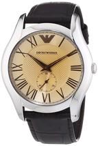 Emporio Armani Men's AR1704 Classic Brown Leather Watch - $93.42