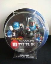 Star Wars M & M's Chocolate Mpire Boba Fett and Han Solo - $46.43