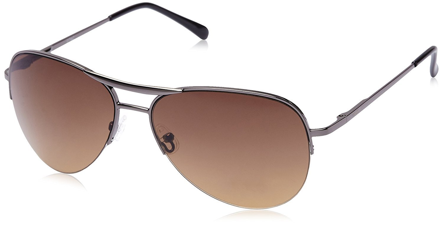Fastrack Aviator unisex Sunglasses (M083BR2FBrown)