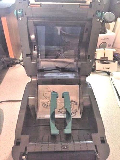 Zebra GX420D Thermal Label Printer and 12 similar items