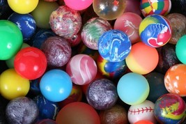 Crazy Bouncy Jumping Balls Set of 6 Assorted Multicolor Balls image 2