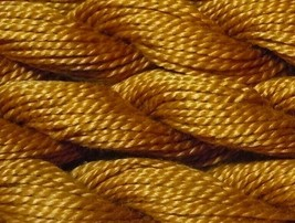 DMC Pearl Cotton Size 3 Color #782 Dark Topaz - $1.70