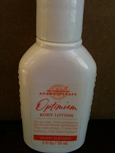 Bath & Body Works Aromatherapy OPTIMISM BRIGHT BLOSSOMS Body Lotion, 2 oz/ 59 ml