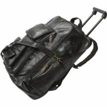 Embassy™ Italian Stone™ Design Genuine Leather Trolley/Backpack - €56,49 EUR
