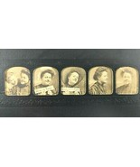 VTG 1908 Grand Rapids MI Funny Lineup of 5 Woman Photos Electric Little ... - $17.90