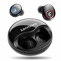 Wireless Earbuds, Lermom Bluetooth 5.0 Headphones Wireless Auto Pairing ... - $19.44