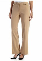 NWT RUBY RD BEIGE BLACK TROUSER CAREER PANTS SIZE 14 SIZE 16 SIZE 18 $54 - $27.49