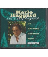 Thirty-Six All-Time Greatest [Audio CD] Haggard, Merle - $18.99