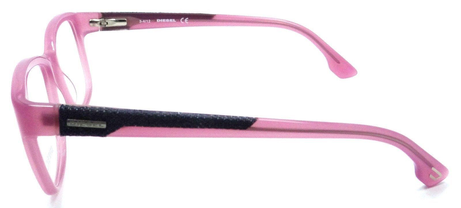 5a876273af New Authentic Diesel Rx Eyeglasses Frames DL5032 081 51-16-140 Pink   Blue