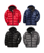 NWT Old Navy Boy's Hooded Frost Free Quilted Puffer Jacket Warm Cozy Win... - $54.99