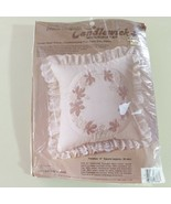 Candlewicking Embroidery Kit Pillow Grape Harbor Creative Moments - $11.13