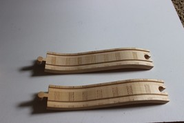 Replacement parts Thomas the Train Wooden 2 piece wavy track for bridges - $17.95