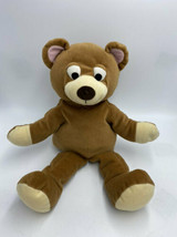 "Gymboree Brown Teddy Bear Plush Hand Puppet Stuffed Animal Vintage 16"" - $29.99"