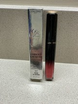 Lancome L'Absolu Lacquer Longwear Lip Color Shade 317 Rise & Shine 8ml NIB - $22.76