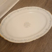 dorena by rose chinalarge serving tray dinner plate Yellow Flowers,  - $24.35