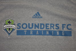 Men's Adidas Seattle Sounders FC Training Gray Performance Shirt ClimaLi... - $9.89