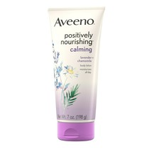 Aveeno Positively Nourishing Calming Body Lotion Lavender + Chamomile 7oz - $10.40