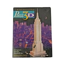 Wrebbit Puzz 3D Empire State Building 3D Puzzle 902 Pieces Complete - $27.99