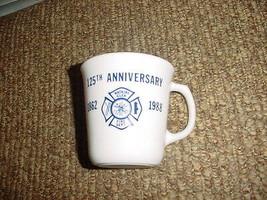 Corning 1988 Watkins Glen Fire Dept. 125th Anniversary Cup Very Rare Free Ship - $18.69