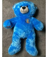 Build A Bear Plush Blue Teddy Thomas & Friends the Train Tank Engine Bea... - $14.84