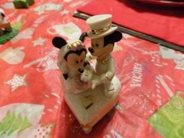 Disney Lenox Mickey & Minnie Sweetheart Treasure Box Wedding - $24.99