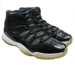huge discount 22eb9 02c3c Nike Air Jordan 11 72-10 Retro Black Gym Red White Mens Size 14 Rare