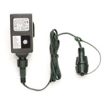 Small Transformer, EU Plug, Green Cable LED Lights Power Supply - $22.15