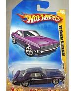 2009 Hot Wheels #8 New Models 8/42 '69 MERCURY COUGAR ELIMINATOR Blue w/... - $8.25