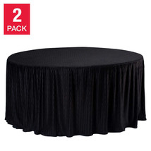 "60"" Round Table Cloth, 2-pack - $131.82"