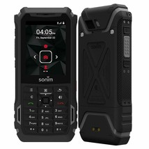 NEW Sonim XP5s | 4G LTE (GSM UNLOCKED) Rugged Waterproof Military XP5800 | Black