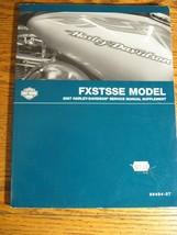 2007 Harley-Davidson FXSTSSE Screamin' Eagle Springer Softail Service Manual Sup - $41.23