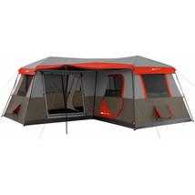 Camping Tent Family 12-Person 3-Room Waterproof Canopie Military Hiking ... - $262.25