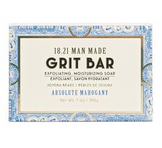 18.21 Man Made Absolute Mahogany Exfoliating & Moisturizing Grit Bar Soap (7oz)