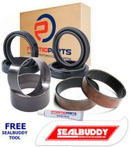 Fork Seals Dust Seals Bushes Suspension Kit for Cagiva X Tra Raptor 01-05 - $43.66