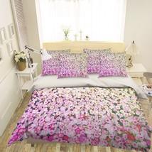 3D Flower Garden Pink 26 Bed Pillowcases Quilt Duvet Single Queen King US Summer - $102.84+
