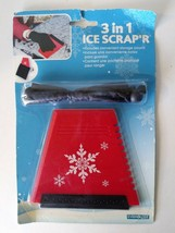 Ice Scraper for Car Truck Windshield With Storage Pouch Frost Snow Remov... - $6.90