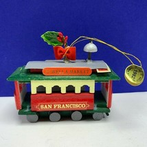 Christmas ornament vintage 1982 Kurt Adler San Francisco powell market t... - $24.70