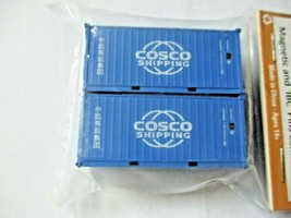 Jacksonville Terminal Company # 205315 Cosco 20' Standard Container N-Scale image 1