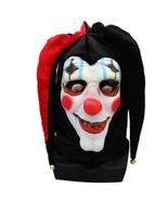 Demon Creepy Joker Bell Clown Mask Full Face Hat Latex For Halloween Par... - $15.88