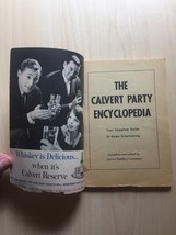 Vintage 1960 House of Calvert Party Encyclopedia- Recipes and Entertaining Book image 2