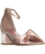 Betsey Johnson Ivee Ankle Strap Sandals, Blush - $45.99