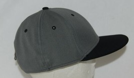OC Sports TGS1930X Proflex  Flat Visor Cap Dark Grey Black image 2