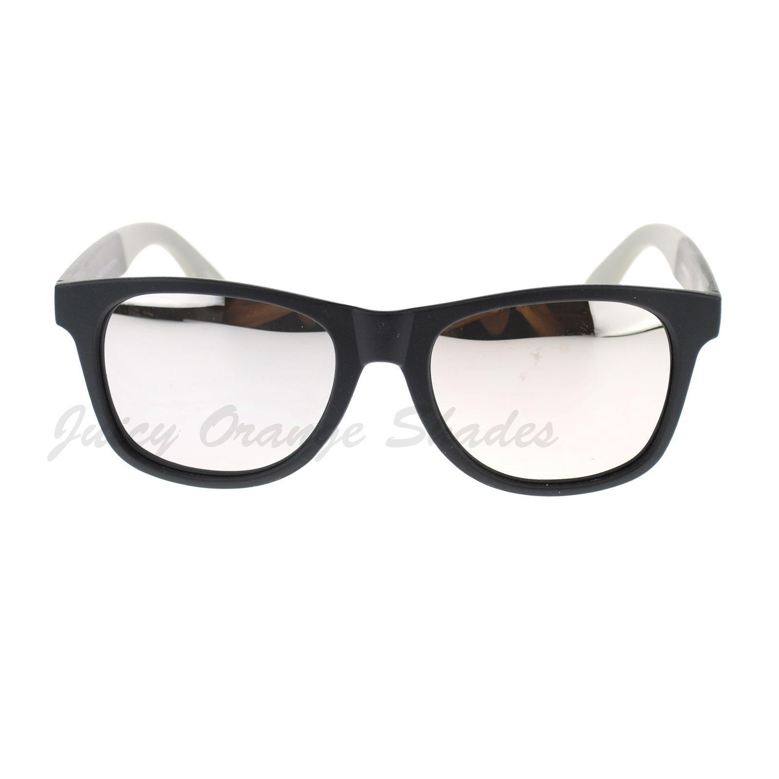 KUSH Square Unisex Sunglasses 2-tone Matte Frame Multicolor Lens