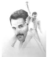 Freddie Mercury Art Print Gary Saderup Artist Brand New 13 x 17 size Que... - $24.75