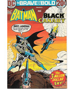 The Brave and the Bold Comic Book #107, DC Batman and Black Canary 1973 ... - $11.64