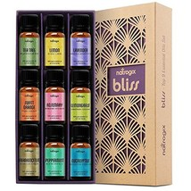 Natrogix Bliss Essential Oils - Top 9 Therapeutic Grade 100% Pure Essent... - $36.18