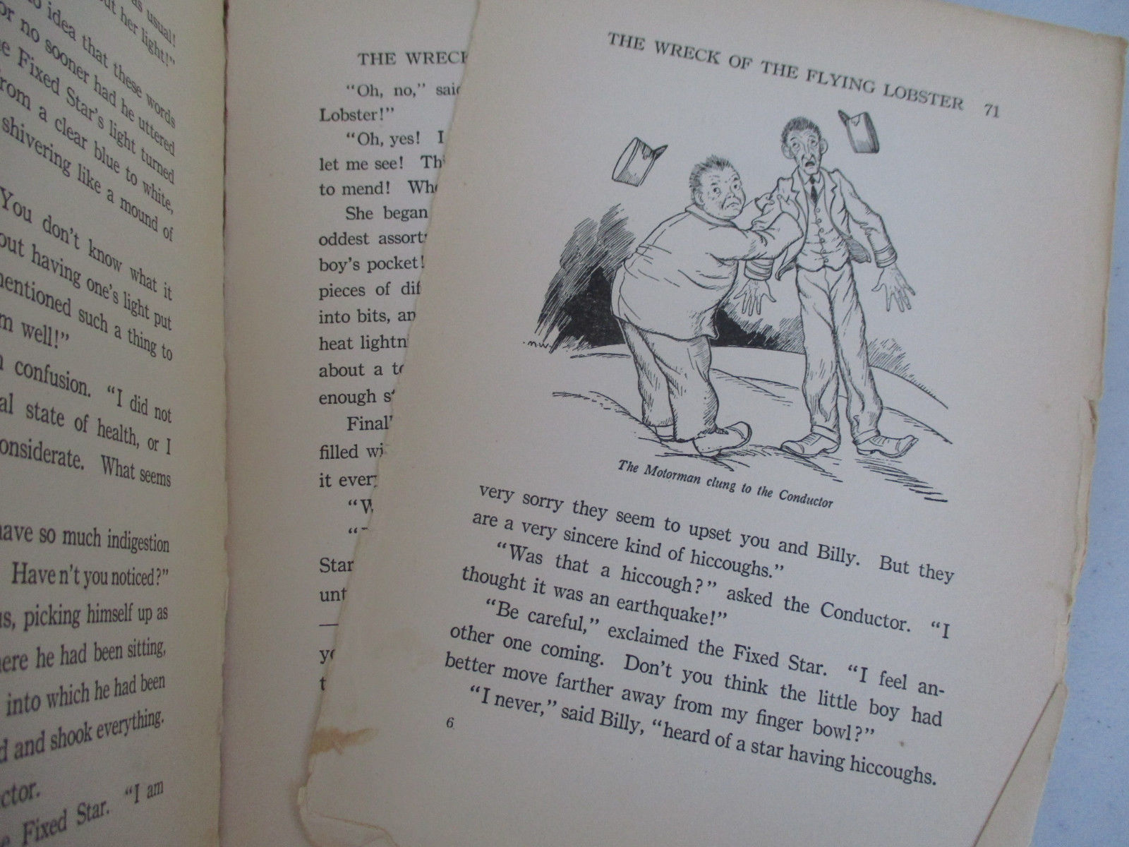 Antique Children's Book The Land of Don't Want To Funny Humor Fantasy World 1916