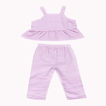 2019 Newborn baby girl clothes set solid color pink striped folded sling... - $10.99