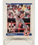 1984 Fleer Cal Ripkin Jr #17 Baltimore Orioles Baseball Card VG/NM - $4.94